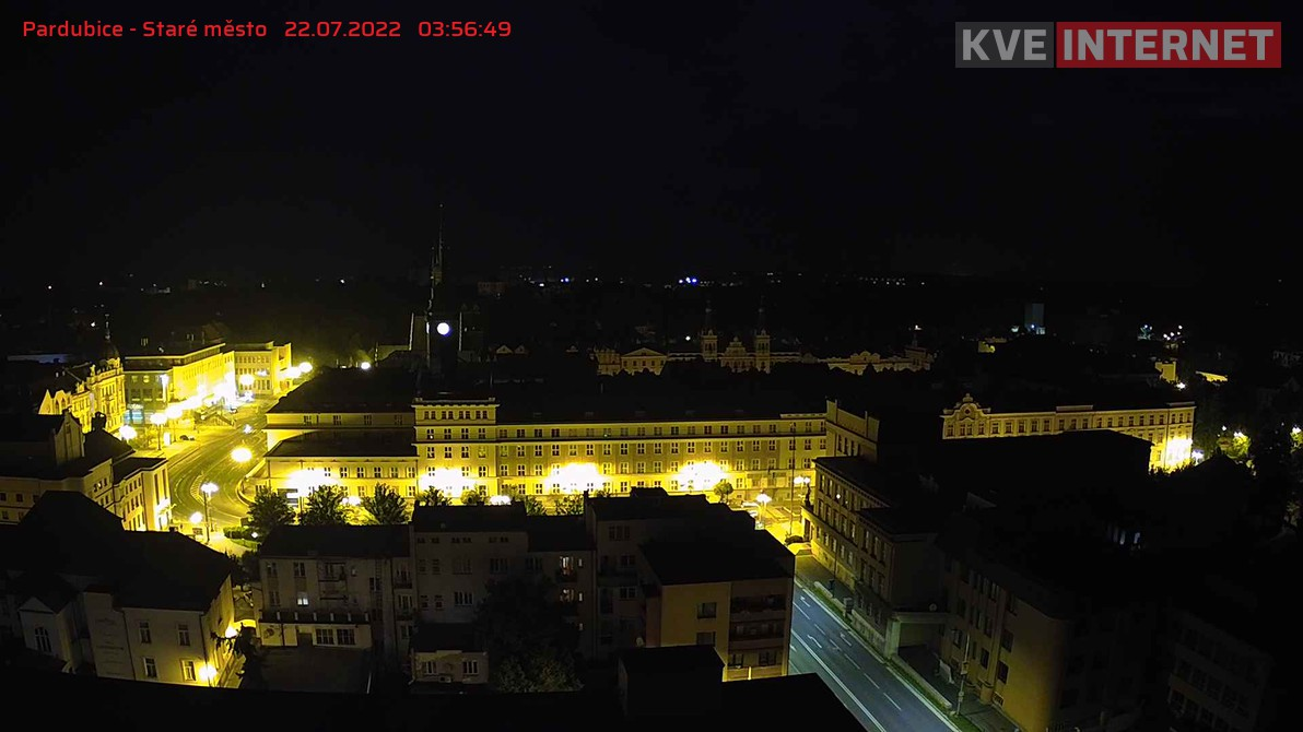 webkamera Pardubice